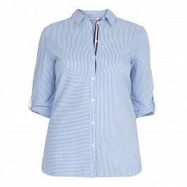 ELENA MIRO STRIPE SHIRT - Plus Size Collection