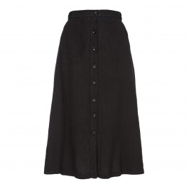 ELENA MIRO PURE LINEN SKIRT - Plus Size Collection