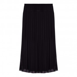 ELENA MIRO PLEATED CHIFFON LAYERED MAXI SKIRT - Plus Size Collection