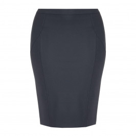 ELENA MIRO STRETCH PENCIL SKIRT BLACK - Plus Size Collection