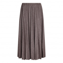 ELENA MIRO truffle pleated knit SKIRT - Plus Size Collection