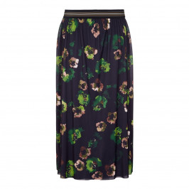ELENA MIRO floral print maxi SKIRT - Plus Size Collection
