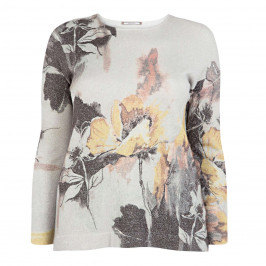 ELENA MIRO FLORAL SWEATER - Plus Size Collection