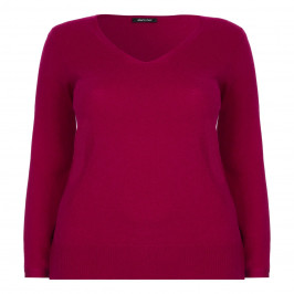 ELENA MIRO WOOL AND CASHMERE SWEATER - Plus Size Collection