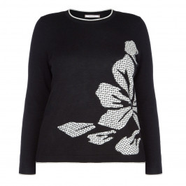 ELENA MIRO MONOCHROME SWEATER - Plus Size Collection