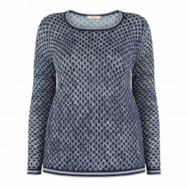 ELENA MIRO SCOOP NECK SWEATER - Plus Size Collection