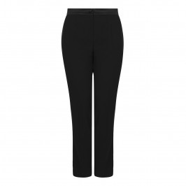 ELENA MIRO SATIN WAISTBAND TROUSERS - Plus Size Collection