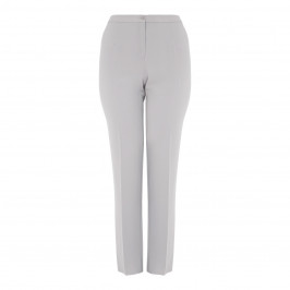 ELENA MIRO FRONT CREASE TROUSER DOVE GREY - Plus Size Collection
