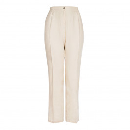 ELENA MIRO wide leg linen TROUSERS - Plus Size Collection