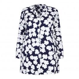Marina Rinaldi Abstract flower JACKET - Plus Size Collection