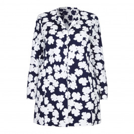 Marina Rinaldi Abstract flower JACKET - Plus Size Collection
