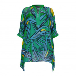 Marina Rinaldi silk chiffon KAFTAN - Plus Size Collection