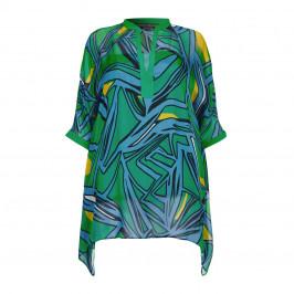 Marina Rinaldi silk chiffon KAFTAN - Plus Size Collection