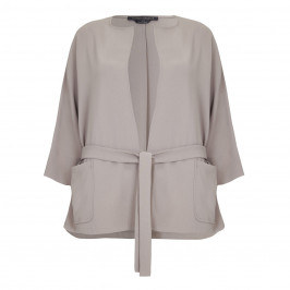 Marina Rinaldi relaxed suiting JACKET in hazelnut - Plus Size Collection