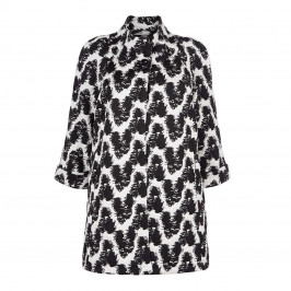 GEORGEDE MONOCHROME FUNNEL NECK JACKET - Plus Size Collection