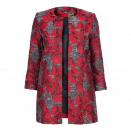 GEORGEDE BROCADE SATIN JACKET