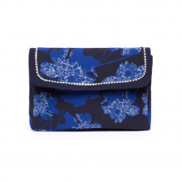 GAIA PEARL TRIM CLUTCH BAG - Plus Size Collection