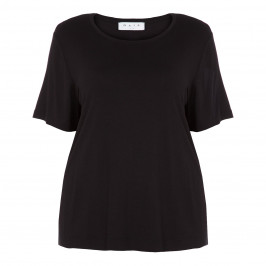 GAIA CLASSIC T-SHIRT BLACK - Plus Size Collection