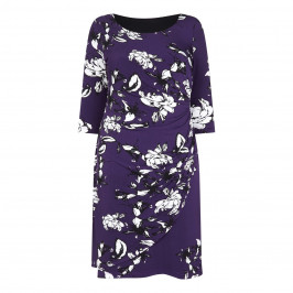 GEORGEDÉ WRAP STYLE PRINTED DRESS - Plus Size Collection