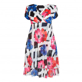 GEORGEDE ANEMONE PRINT DRESS - Plus Size Collection
