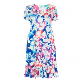 GEORGEDE FLORAL PRINT TEA DRESS - Plus Size Collection