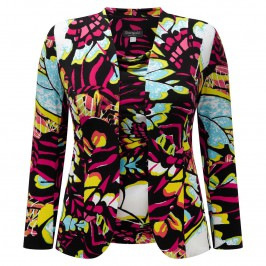 GEORGEDÉ abstract print jersey twinset - Plus Size Collection