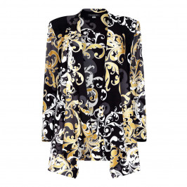 GEORGEDÉ WATERFALL JERSEY JACKET - Plus Size Collection
