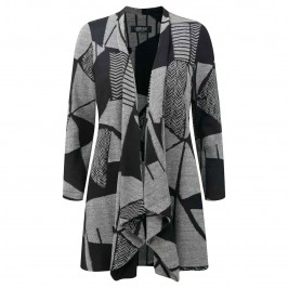 GEORGEDé Long soft waterfall Jacket - Plus Size Collection