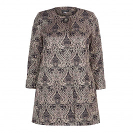 GEORGEDE GOLD AND BLACK BROCADE JACKET - Plus Size Collection