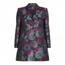 Georgedé JACQUARD ROSE JACKET - Plus Size Collection