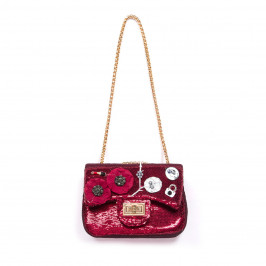 GIUNO RED SEQUIN HANDBAG - Plus Size Collection