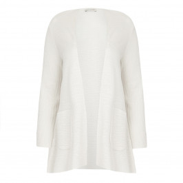 KARIN STRUCTURED LONG-SLEEVED CARDIGAN  - Plus Size Collection