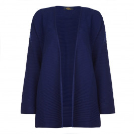 KARIN HORIZONTAL STRIPED INK BLUE CARDIGAN  - Plus Size Collection