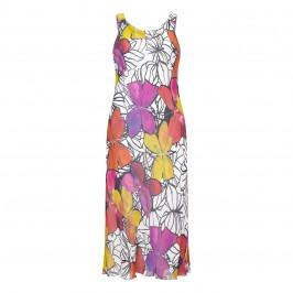 KIRSTEN KROG CHIFFON MAXI DRESS+STOLE - Plus Size Collection