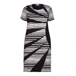 BEIGE LABEL BODY CON PRINT JERSEY DRESS - Plus Size Collection