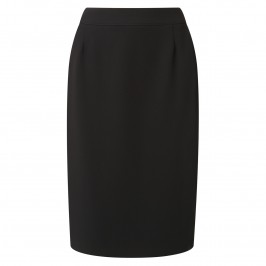 Habella black suiting SKIRT - Plus Size Collection