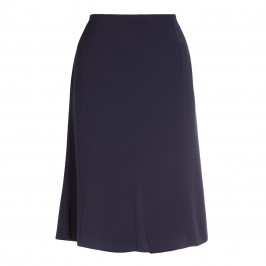 HABELLA navy flick hem SKIRT - Plus Size Collection