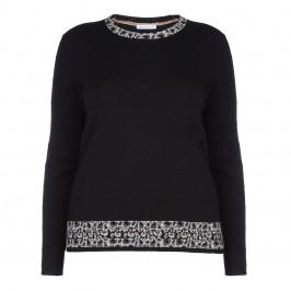 PER TE BY KRIZIA BLACK SWEATER - Plus Size Collection
