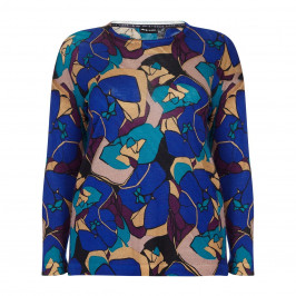 PER TE BY KRIZIA ABSTRACT PRINT SWEATER - Plus Size Collection