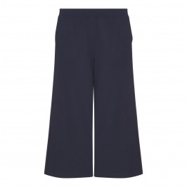 PER TE BY KRIZIA navy punto jersey CULOTTES - Plus Size Collection