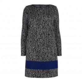 PER TE BY KRIZIA PRINT LONG SLEEVE DRESS - Plus Size Collection