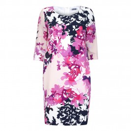 KRIZIA FLORAL PRINT DRESS - Plus Size Collection