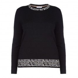 PER TE BY KRIZIA BLACK SWEATER - Plus Size Collection