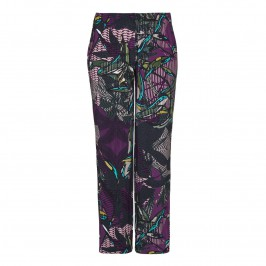 KRIZIA print jersey TROUSERS - Plus Size Collection