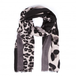 ELIZA GRACIOUS LEOPARD PRINT SCARF - Plus Size Collection
