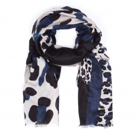 ELIZA GRACIOUS LEOPARD PRINT SCARF PINK - Plus Size Collection
