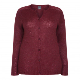 PERSONA BY MARINA RINALDI SEQUIN CARDIGAN - Plus Size Collection