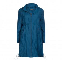 BEIGE LABEL PARKA PETROL BLUE - Plus Size Collection