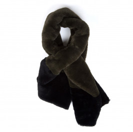 ELENA MIRO FAUX-FUR SCARF - Plus Size Collection