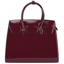 C.L. HANDBAGS PATENT BAG - Plus Size Collection